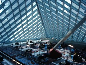 The Seattle Public Library's Central Library